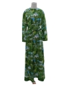 Womens Maxi Photo Print Dress