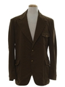 Mens Leisure Style Disco Blazer Sportcoat Jacket