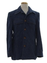 Mens Mod Denim Leisure Style Shirt Jacket