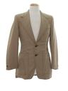 Mens Mod Disco Blazer Sportcoat Jacket