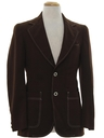 Mens Mod Disco Blazer Sport Coat Jacket