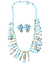 Womens Accessories - Jewelry - Mod Necklace and EarringsMatching Set