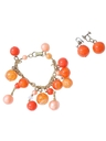 Womens Accessories - Jewelry - Mod Bracelet and Earrings Matching Set