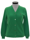 Womens Mod Izod Cardigan Sweater