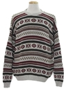 Mens Cosby Style Sweater