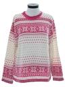 Womens Snowflake Sweater