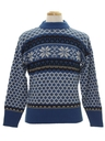 Mens Snowflake Ski Sweater