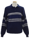 Mens Snowflake Sweater