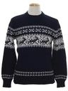 Mens Reindeer Ski Sweater