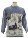 Unisex Country Kitsch Vintage Ugly Christmas Sweater