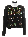 Womens Designer Ugly Christmas Cocktail Sweater