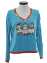 Womens Western Ugly Christmas Sweater