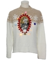 Unisex Amber Lightup Ugly Christmas Catmus Sweater