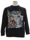 Unisex Cat-Tastic Ugly Christmas Sweatshirt