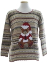 Unisex Bear-riffic Ugly Christmas Sweater