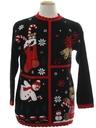 Unisex Vintage Ugly Christmas Sweater