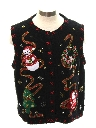Womens or Girls Ugly Christmas Sweater Vest
