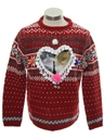 Unisex Ladies or Boys Catmus Ugly Christmas Sweater
