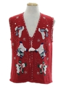 Unisex Ugly Christmas Sweater Vest