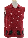 Unisex Dog-Gonnit Ugly Christmas Sweater Vest