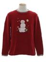 Unisex Minimalist Ugly Christmas Sweater