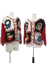 Unisex Vintage Ugly Christmas Matching Set of Sweaters