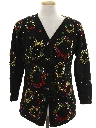 Womens Designer Ugly Christmas Cardigan Sweater