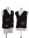 Unisex Matching Set of Minimalist Ugly Christmas Sweater Vests