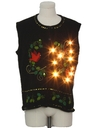 Unisex Lightup Ugly Christmas Sweater Vest
