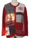 Unisex Lightup Ugly Christmas Sweater