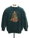 Womens Bear-riffic Ugly Christmas Sweatshirt