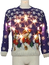 Unisex Vintage Lightup Ugly Christmas Sweater