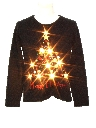 Womens Lightup Ugly Christmas Sweater