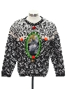 Womens Catmus Ugly Christmas Sweater