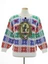 Unisex Vintage Krampus Ugly Christmas Sweater