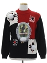 Unisex Vintage Krampus Ugly Christmas Sweater