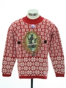Unisex Ladies or Boys Vintage Krampus Ugly Christmas Sweater