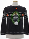 Unisex Vintage Catmus Ugly Christmas Sweater