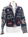 Womens Ugly Christmas Sweater Jacket