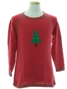 Unisex Minimalist Ugly Christmas Sweater