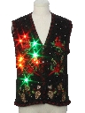 Unisex Multicolor Lightup Ugly Christmas Sweater Vest
