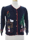 Womens Vintage Ugly Christmas Sweater