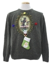 Mens Krampus Ugly Christmas Sweater