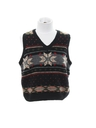 Unisex Girls or Boys Ugly Christmas Snowflake Sweater Vest
