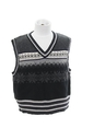 Unisex Girls or Boys Ugly Christmas Sweater Snowflake Vest