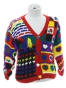 Unisex/Childs Cheesy Ugly Cardigan Sweater
