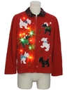 Unisex Multicolor Lightup Dog-gonnit Ugly Christmas Sweater
