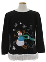 Unisex Hand Embellished Ugly Christmas Sweater