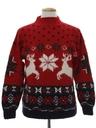 Unisex Reindeer Ski Sweater