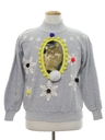Womens Catmus Ugly Christmas Sweatshirt